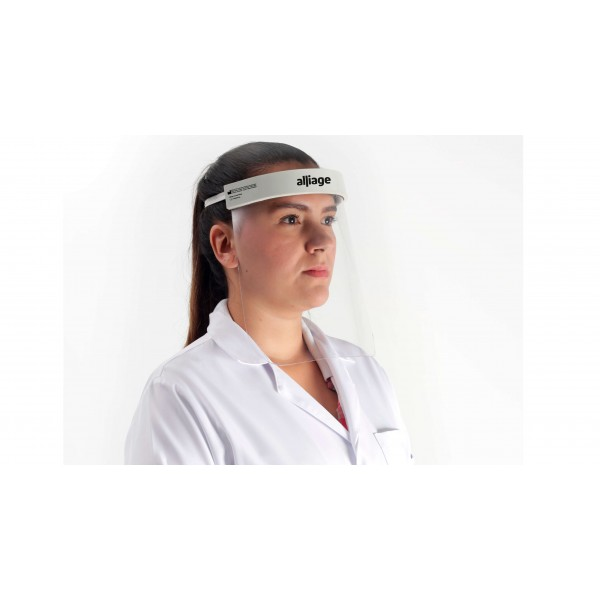 Kit Máscara Protetora Facial (Face Shield) - Alliage