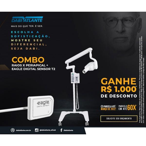 COMBO: Raios-X SPECTRO 70X + Sensor Digital Tamanho 2